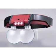 Lupa binocular múltiple con luz